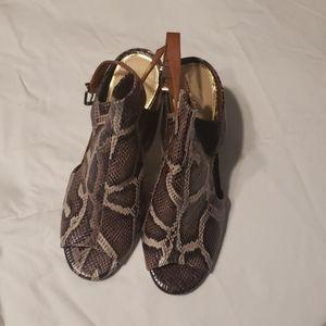 Snakeskin Heels by Jessica Simpson